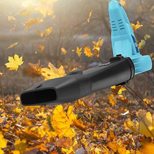 Sun Joe SBJ601E-BLU 10 Amp 215 Max MPH All-Purpose 2-Speed Electric Blower, Sky Blue, Sky Blue