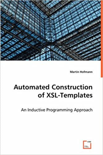 Automated Construction Of XSL-Templates: An Inductive Programming Approach Book Pdf 51jtDaQesSL._SX331_BO1,204,203,200_