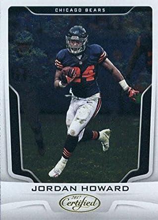 fade5b149d9 Amazon.com: 2017 Panini Certified #93 Jordan Howard Chicago Bears ...