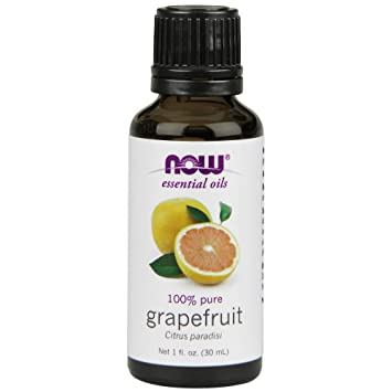 Now Essential Oils Grapefruit Oil Sweet Citrus Aromatherapy Scent Cold Pressed 100