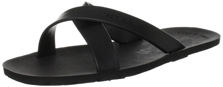 61502b361e4 Amazon.com  Diesel Men s Plaja Wash Flip-Flop Sandal  Shoes