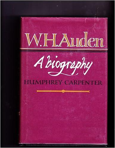 wh auden short biography