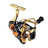 Geelife 12+1 Ball Bearings Spinning Fishing Reels MT3000 to MT7000 Left and Right Interchangeable Light and Smooth Saltwater Freshwater Fishing Gear (MT3000)