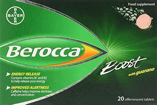 Berocca Boost Multivitamin Tablets - Pack of 20 by Berocca