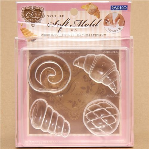 soft mold for clay bread & pastry from - Pastry Soft