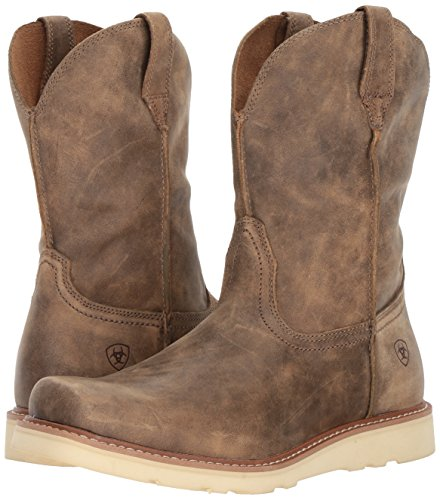 63f49a12a4b Ariat Men's Rambler Recon Square Toe Work Boot, Brown Bomber, 11.5 D US