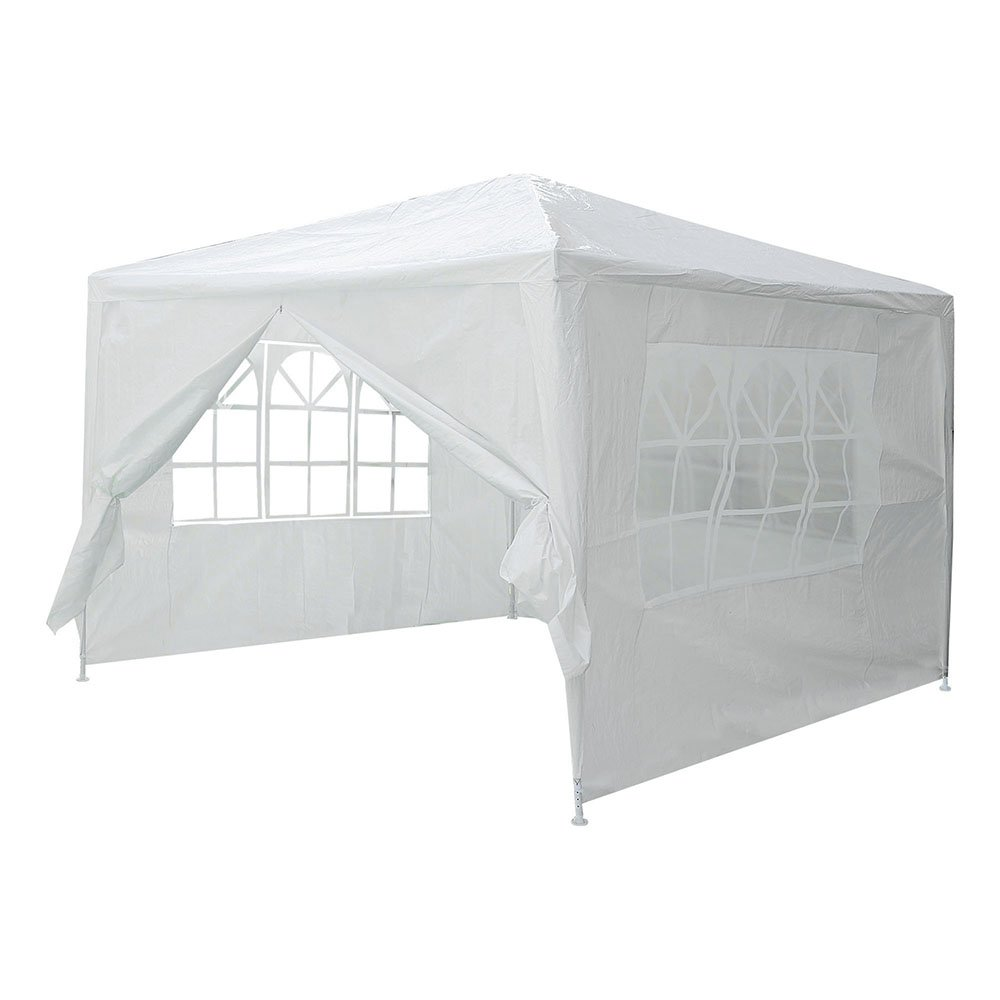 Yescom 10x10' White Outdoor Wedding Party Patio w/Removable Side Wall Canopy for Fetes Event by Yescom (Image #2)