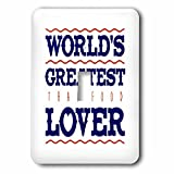 Russ Billington Designs - Thai Food- Worlds Greatest Lover - Light Switch Covers - single toggle switch (lsp_239108_1)