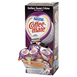 Coffee-mate 84652CT Liquid Coffee Creamer Italian Sweet Creme 0.375oz Mini Cups 50/Bx 4 Box/Ctn