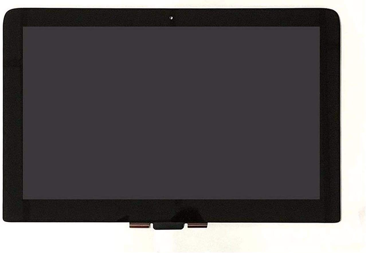 """HUAHAI 13.3"""" 2560x1440 QHD Replacement Touch Glass Panel Digitizer Panel LCD Display Screen Assembly for HP Spectre X360 13-4009TU 13-4116DX (Only for 2560x1440, Not for 1920x1080)"""