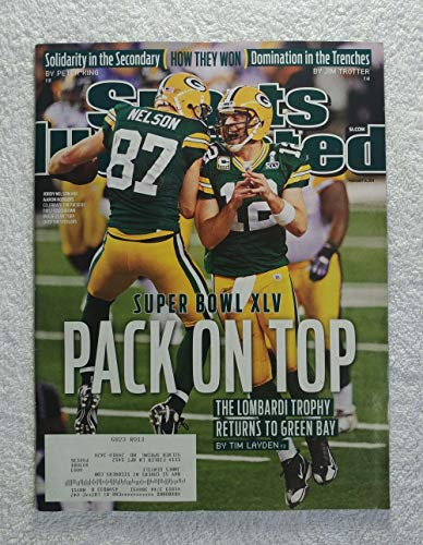 2011 Pittsburgh Steelers Super Bowl - Aaron Rodgers & Jordy Nelson - Green Bay Packers - Super Bowl XLV Champions! - Sports Illustrated - February 14, 2011 - Pittsburgh Steelers - SI
