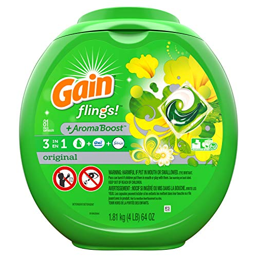 Gain flings Liquid Laundry