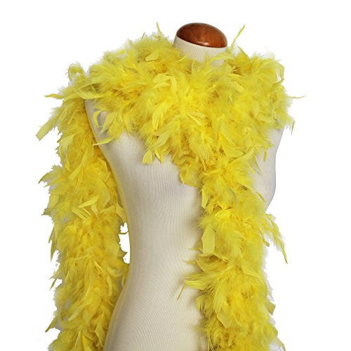 Cynthia's Feathers 65g Chandelle Feather Boas Over 80 Colors & Patterns to Pick Up -