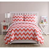 VCNY Home Leigh Chevron Bed in a Bag 5 Piece Twin