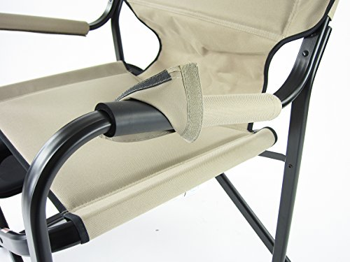 Onway Aluminum Portable Folding Deck Chair With Side Table