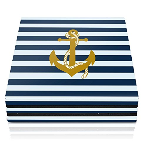 Controller Gear PS4 Pro Console Skin – Nautical Horizontal – PlayStation 4