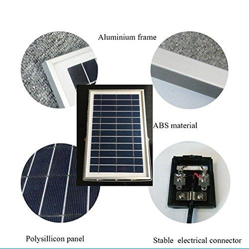 Solar Powered Floodlight Spotlight Outdoor Waterproof