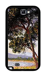Beach in Juan-les-Pins (Monet) - Case for Samsung Galaxy Note 2