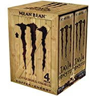 Java Monster, Mean Bean, 11 Ounce, 4 Count (Pack of 6)
