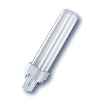 Osram Leuchtmittel Energiesparlampen DULUX D 10 W//827