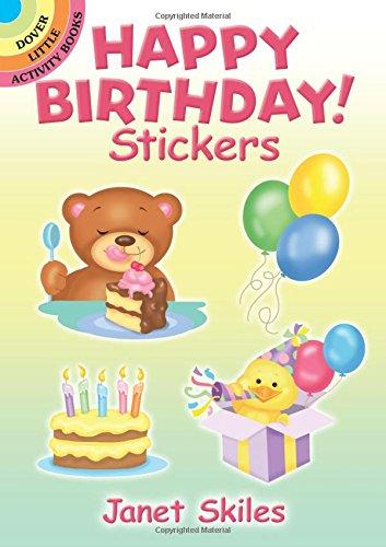 Happy Birthday! Stickers (Dover Little Activity Books Stickers) ebook