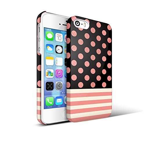 IPhone 5 Pink Polka Dots Case For Teen Girl Akna Retro Floral