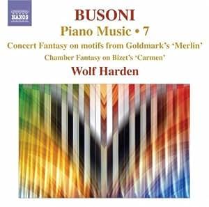 Ferruccio busoni musique pour piano (volume 7)