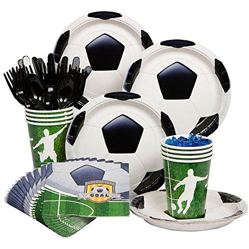 Costume Supercenter BB101304 Soccer Party Standard Kit Serves 8 Guests
