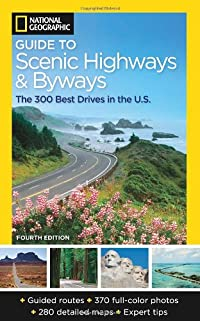 Book cover: Scenic Highways and Byways