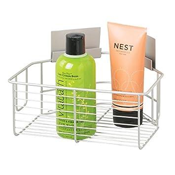 Duschzubehör mdesign eckduschkorb selbstklebend praktische duschablage ohne