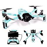 MightySkins Skin for Parrot Anafi Drone – Faith | Protective, Durable, and Unique Vinyl Decal wrap Cover | Easy to Apply, Remove, and Change Styles | Made in The USA