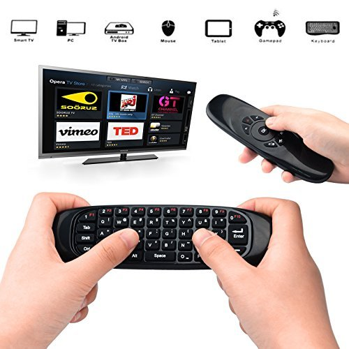 universal remote with keyboard - 9