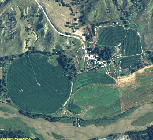 Cherry County Nebraska Aerial Photography on DVD