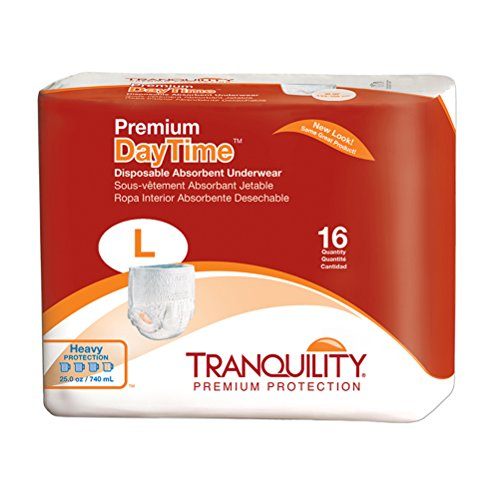 Tranquility Premium DayTime™ Disposable Absorbent Underwear (DAU) - LG - 16 ct Absorbent Underwear