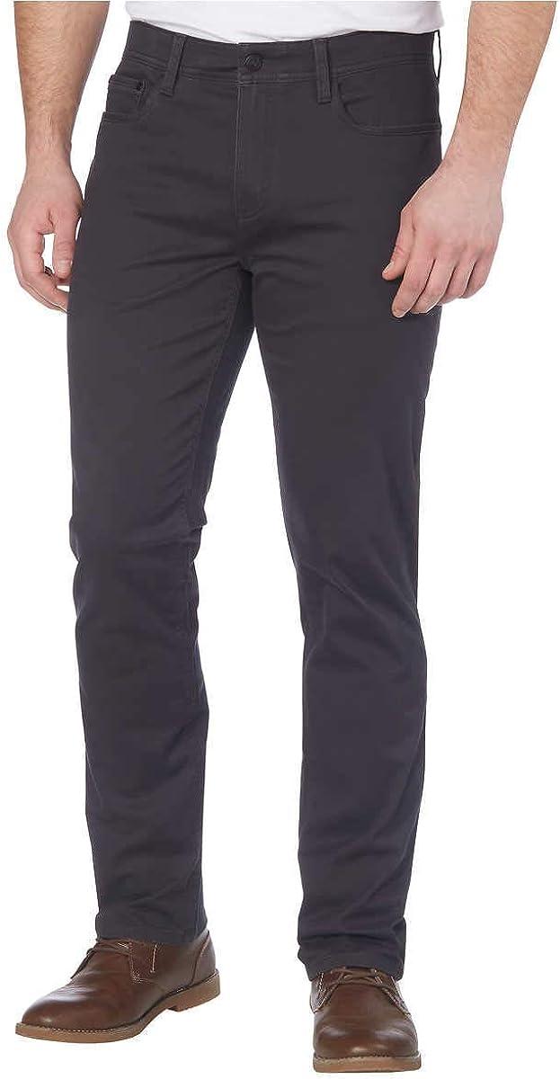 English Laundry Men's 5 Pocket Pant (40x30, Forged Iron)