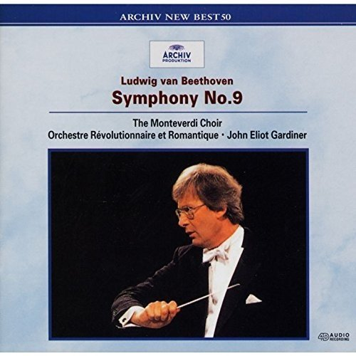 CD : Beethoven - Gardiner, John Eliot - Beethoven: Symphony 9 (Japan - Import)