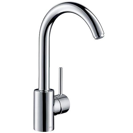 Hansgrohe Küchenarmatur Talis S² (Wasserhahn Küche, schwenkbar mit hohem  Auslauf) chrom