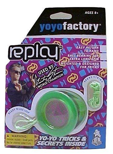 Replay Green Responsive Yo Yo Beginner Type Gentry Stein Edition From The YOYOFACTORY