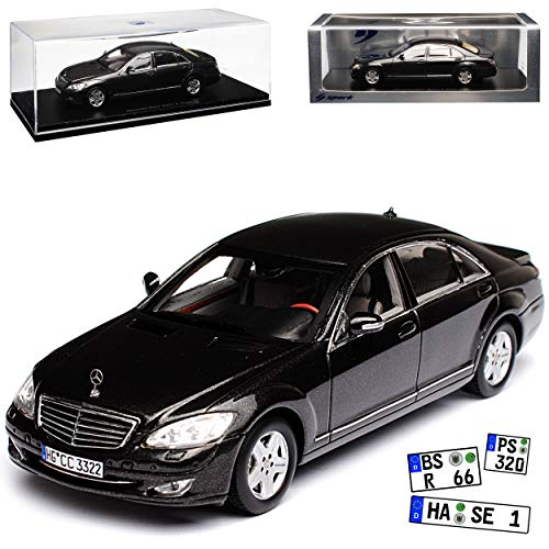Mercedes-Benz S-Klasse W222 MOPF Selenit Grau Metallic Modell Ab 2013 Ab Facel..