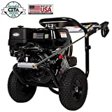 SIMPSON Cleaning PS4240H 4200 PSI at 4 GPM Gas Pressure Washer Powered