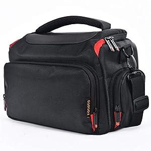 Best Epic Trends 51jtKIz%2BSZL._SS300_ FOSOTO DSLR Camera Shoulder Bag Case Compatible for Canon EOS Rebel T7 T6 4000D 80D 90D 6D Mark II,Nikon D3500 D3400…