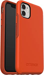 OtterBox SYMMETRY SERIES Case for iPhone 11 - RISK TIGER (MANDARIN RED/PUREED PUMPKIN)
