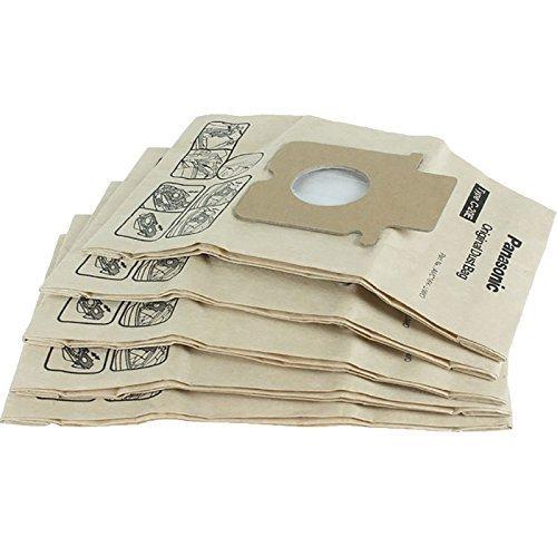 Paquete de 5 original de Panasonic C-20E bolsas de papel ...