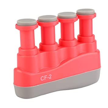 Children Adult Adjustable Guitar Piano Zither Finger Strength Tension Exerciser Hand Grip Trainer Strengthener Practice Tool Dilwe Finger Exerciser