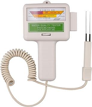 Electronic Water Tester Meter Pool Chlorine pH Value Test Tool PC-101