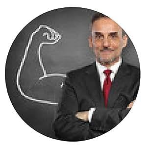alfombrilla de ratón Hombre con los músculos / Potencia / Fuerza / Éxito - ronda - 20cm