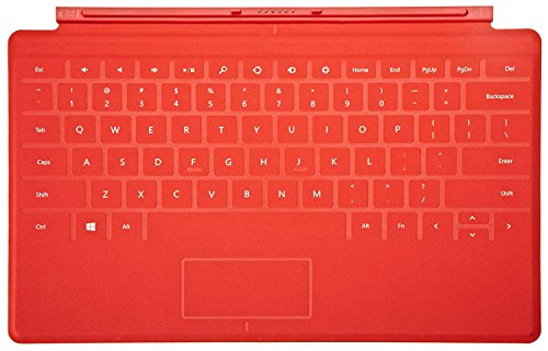 Red Touch Cover Microsoft Surface