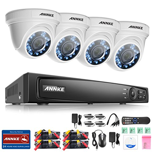 Annke Surveillance 2 1MegaPixels Weatherproof Security