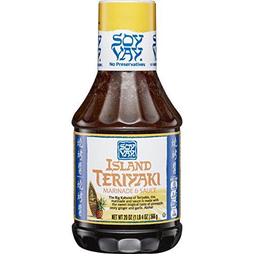 Sesame Chicken (Soy Vay Island Teriyaki Marinade & Sauce, 20 Ounce Bottle)