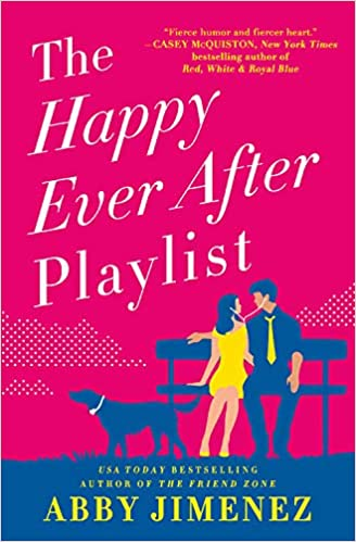 The Happy Ever After Playlist - from a list of feel-good books that will make you smile | The Good Living Blog